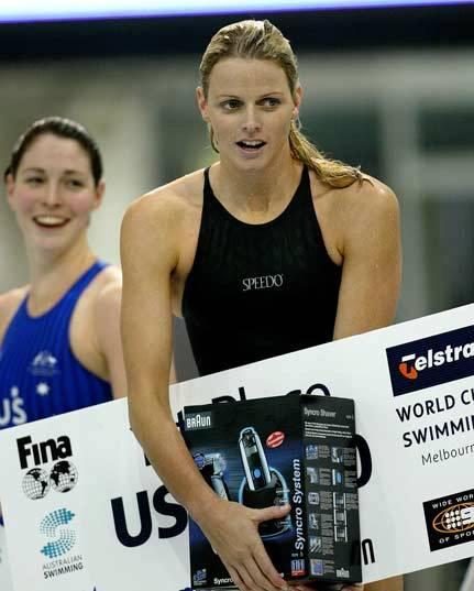charlene wittstock swimming. Charlène Wittstock had